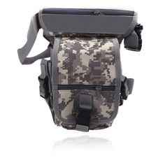 Drop Leg Bag Motorcycle Outdoor Bike Cycling Thigh Pack Waist Belt Tactical Bag Multi-purpose ACU
