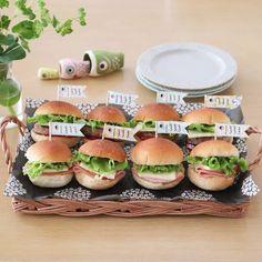 Mini Burgers, Mini Hamburgers