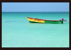 Caribbean colors in Jamaica.