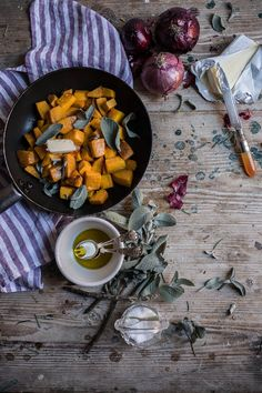 Pan Fried Pumpkin with Brown Butter and Sage - From My Dining Table by Skye McAlpine