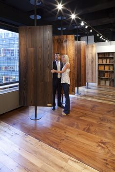 Attractive Wood Plank Floors Component Wood Plank Floors Showroom Locations High End Wood Flooring Carlisle Wide Plank Floors Showroom Interior Design, Tile Showroom, Furniture Showroom, Furniture Design, Funky Furniture, Plywood Furniture, Chair Design, Design Design, Villefranche Sur Saône