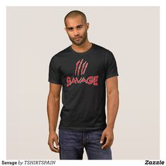 Savage T-Shirt - Classic Relaxed T-Shirts By Talented Fashion & Graphic Designers - #shirts #tshirts #mensfashion #apparel #shopping #bargain #sale #outfit #stylish #cool #graphicdesign #trendy #fashion #design #fashiondesign #designer #fashiondesigner #style