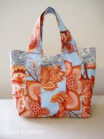 The Project Corner: Summer Bag Tutorial