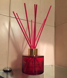 Red #reed Diffuser #luxury #home #airfreshener