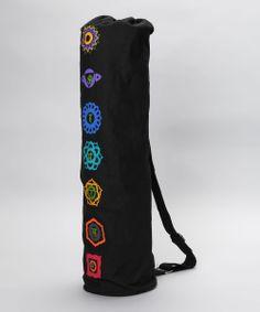 OMSutra Chakra Embroidered Mat Bag Chakra Symbols 47437db77c3cc