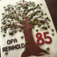 85 Birthday cake! Geburtstags Torte für Opa!