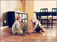 Nourishing Minimalism: I Got Rid of The Toys