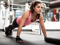 Think you can't do a strength training workout because you don't have any equipment? Here are 10 body-weight exercises that you can fit into your fitness routine anywhere and at any time! Weight Training Workouts, Body Weight Training, Toning Workouts, Training Exercises, Exercise Moves, Weight Exercises, Chest Exercises, Treadmill Exercises, Interval Training
