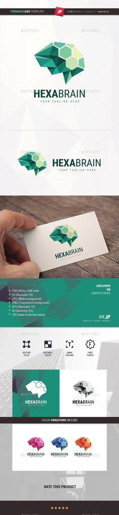 Hexa Brain Logo