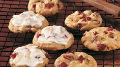 Frosted Cranberry Orange cookies Share the classic flavor combo of orange and cranberry in a frosted homemade cookie.
