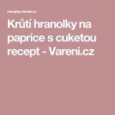 Krůtí hranolky na paprice s cuketou recept - Vareni.cz
