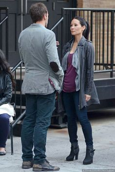 I love Lucy Liu's outfits in Elementary. (I also love the show Elementary...)