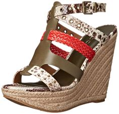 Aldo Women's Chacien Wedge Sandal ** New and awesome product awaits you, Read it now  : Platform sandals
