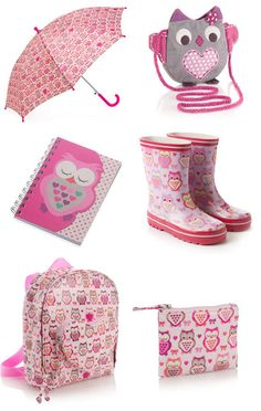 I don't understand....why don't I have owl rain boots and an owl umbrella?!?!?!?! :'(