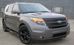 Custom grille for a Ford Explorer