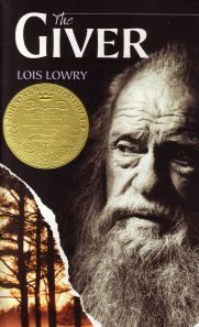 The Giver by Lois Lowry. The much anticipated movie comes out in Aug. 15, 2014. librarytreats.wordpress.com has a wonderful blog about this book.
