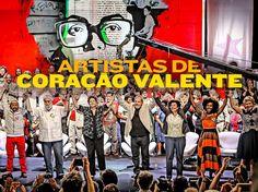 Blog Roberval Paulo: DILMA - Apoio de artistas, intelectuais, cientista...