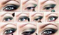 Пошаговый вечерний макияж для серых глаз