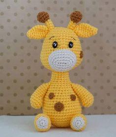 Crochet Toys Patterns, Stuffed Toys Patterns, Tweety, Giraffe, Free Pattern, Handmade, Knitting Toys, Internet, Videos