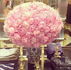 i need a bouquet of peonies this big at least once in my life.