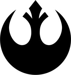 Star Wars stencil Star Wars Logos, Star Wars Tattoo, Star Wars Rebels, Simbolos Star Wars, Star Wars Gifts, Star Wars Party, Star Wars Birthday, Alliance Logo, Star Wars Art