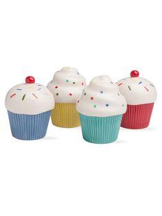 Cupcake Lidded Jar and Bowls Set (5 PC) by Tag at Gilt
