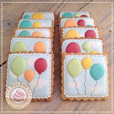 Baloon cookies Ballonnen koekjes