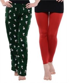 Womens leggings and Pyjamas on Sale | Zordaar.com