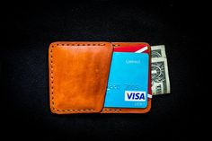 Check out this item in my Etsy shop https://www.etsy.com/listing/547015371/leather-cardholder-leather-wallet-front