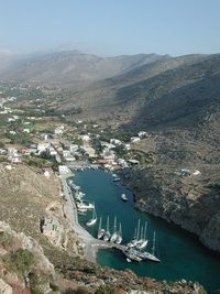 Vathi, Kalymnos sailing charters in the Dodecanese islands