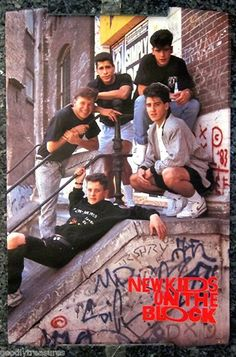 New Kids!  I had that poster in my room!!!!!