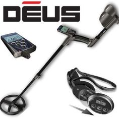 XP Deus Metal Detector - FREE UK Delivery (WS4, WS5, 9 ,11  Coil Options)