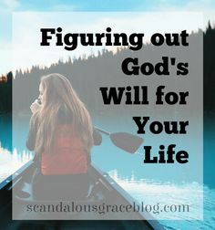 It can be so hard to figure out what God is telling you what to do. How do you know what His will for your life is? It may not be as hard as you think. Click here to read more!