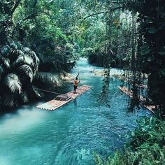 The #wanderlust is too real. Martha Brae River in Jamaica. : @devinbrugman