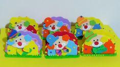 Servilleteros de goma eva doble reforzados Baby, Napkin, Bonbon, Ideas Party, Circus Birthday, Kids, Baby Humor, Infant, Babies