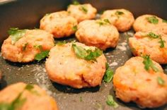Turkey bites-So easy to make & freeze. great finger food for kids, yummy for all :0)