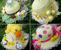 Easter Bonnet Hats  —  (650x532)