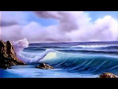 Bob Ross full episode S9-E2 Surf's Up - YouTube