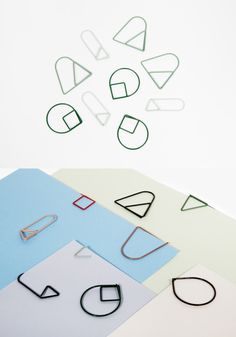 paper clips by Daphna Laurens