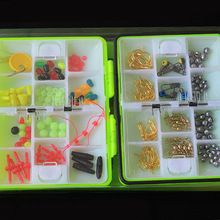 US $4.44 JOSHNESE New Assorted Fishing Tackle Set Box Fishing Accessories Kit Fishing Hooks Lead Beads Bells Snaps With Box Portable. Aliexpress product