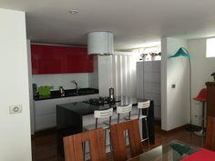 Otro ángulo de la cocina