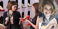 Personagem de Sophie Charlotte será apaixonada por sapatos em Sangue Bom - Amora (Sophie Charlotte) terá coleção de sapatos na novela Sangue Bom. Relembre as famosas da vida real que também são apaixonadas pelos calçados!