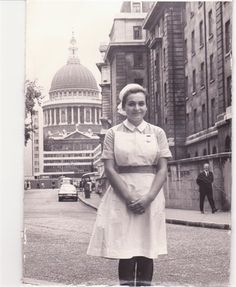 First year nurse at Barts 1976