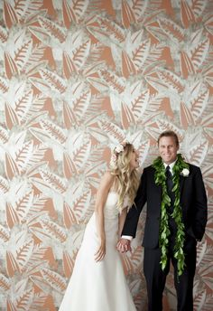 A California-chic backdrop for a @fssantabarbara wedding shot.