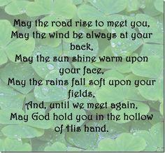 ~An Irish Blessing  HAPPY ST PATRICK'S DAY!