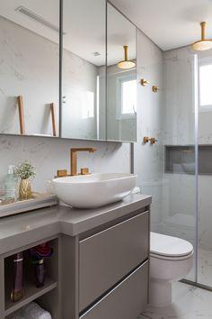 Ideas bathroom shower decor ideas layout for 2019 Dream Bathrooms, Small Bathroom, Master Bathroom, Bathroom Ideas, Bad Inspiration, Bathroom Inspiration, Mini Bad, Toilette Design, Bathroom Interior Design