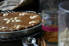 Speculaas Pie with Almond Paste filling (Dutch)