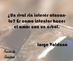 Frases de amor al futbol de  Jorge Valdano