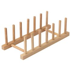 OSTBIT Plate holder, bamboo - IKEA