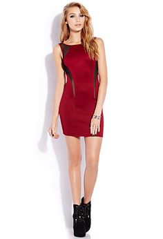 Forget-Me-Not Bodycon Dress | FOREVER 21 - 2000074012